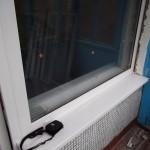 Новое пластиковое балконное окно