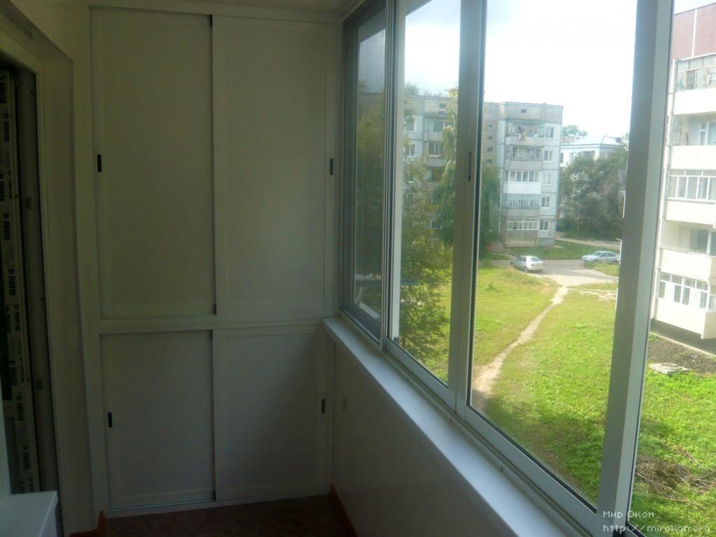 Пластиковые окна на лоджию, дверь, окно на балкон - 2800 ру.