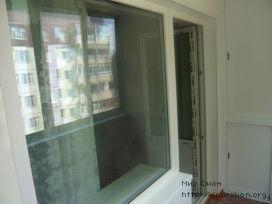 Балконный блок фирмы Rehau