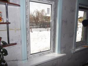 Пластиковые окна в частном доме