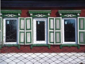 Установленные пластиковые окна в частный дом