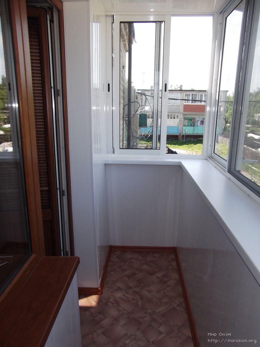 Застекление балконов изнутри. - мои статьи - каталог статей .