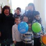 Гости на празднике в детском доме