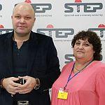 Я с известнейшим Российским тренером Дмитрием Норка на оконной конференции «Оконный бизнес 2014. Антикризис»