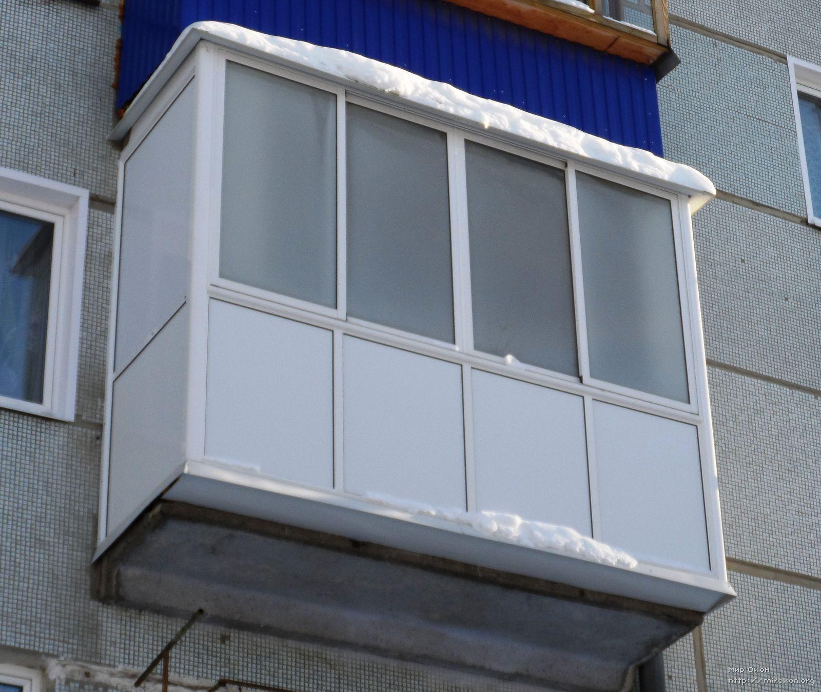 Французский балкон профиль ews..