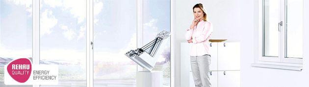 У компании REHAU большой выбор профилей разных дизайнов