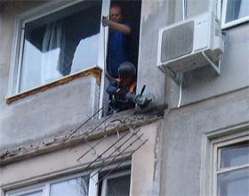 Обрушение балкона