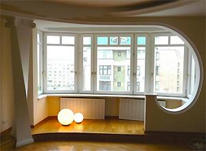 Особенности объединения лоджий и балконов