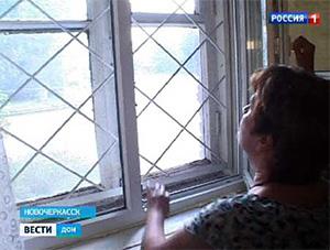 В Ростове установили пластиковые окна, не демонтировав старые