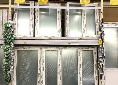 Окна REHAU теперь в супермаркетах