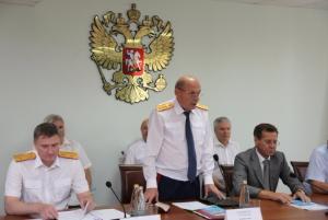 В следственном управлении СК России состоялся брифинг по вопросу падения детей из окон