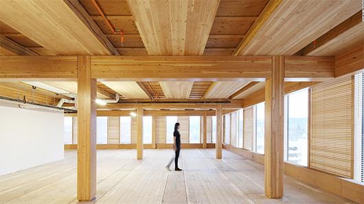 Многоэтажные здания из древесины